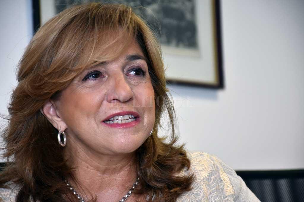 Frana es primera candidata a diputada provincial por Encuentro por Santa Fe. Crédito: Flavio Raina