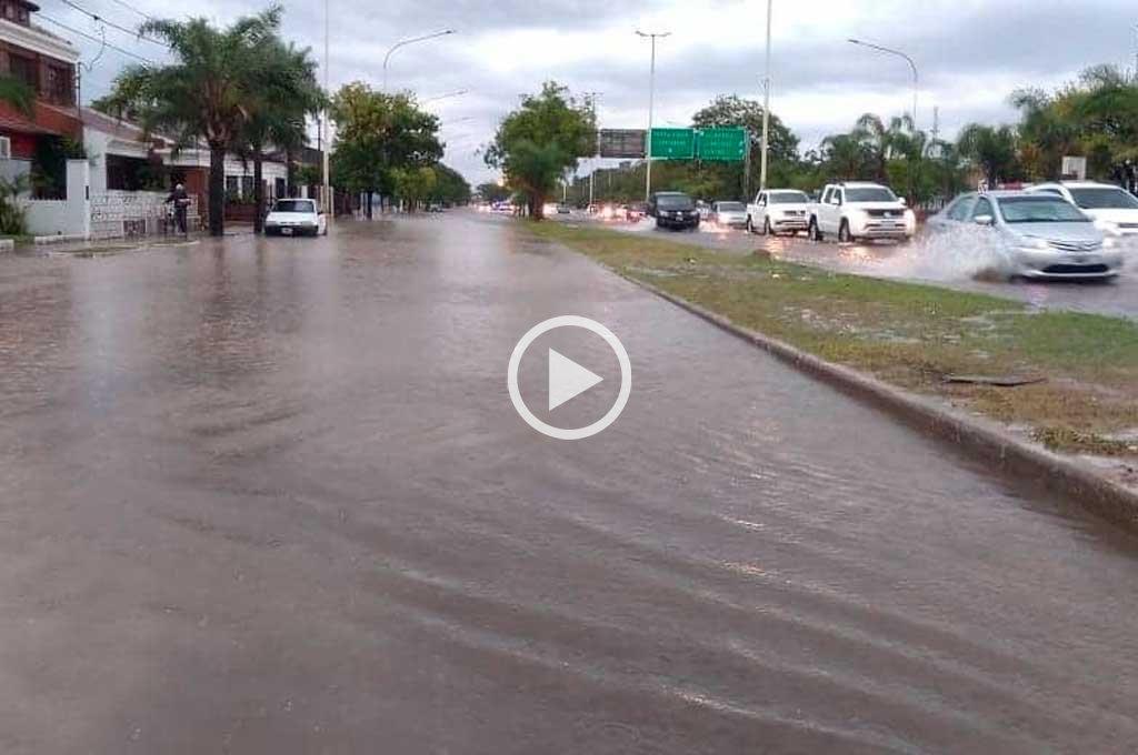 Fuerte temporal genera inconvenientes en Corrientes