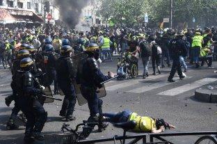Un gran despliegue policial limitó los disturbios de los chalecos amarillos