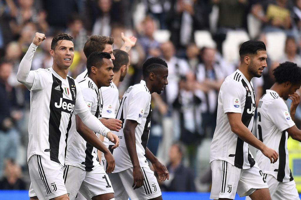 Con Dybala y Ronaldo, Juventus se consagró campeón de Italia por octavo año consecutivo