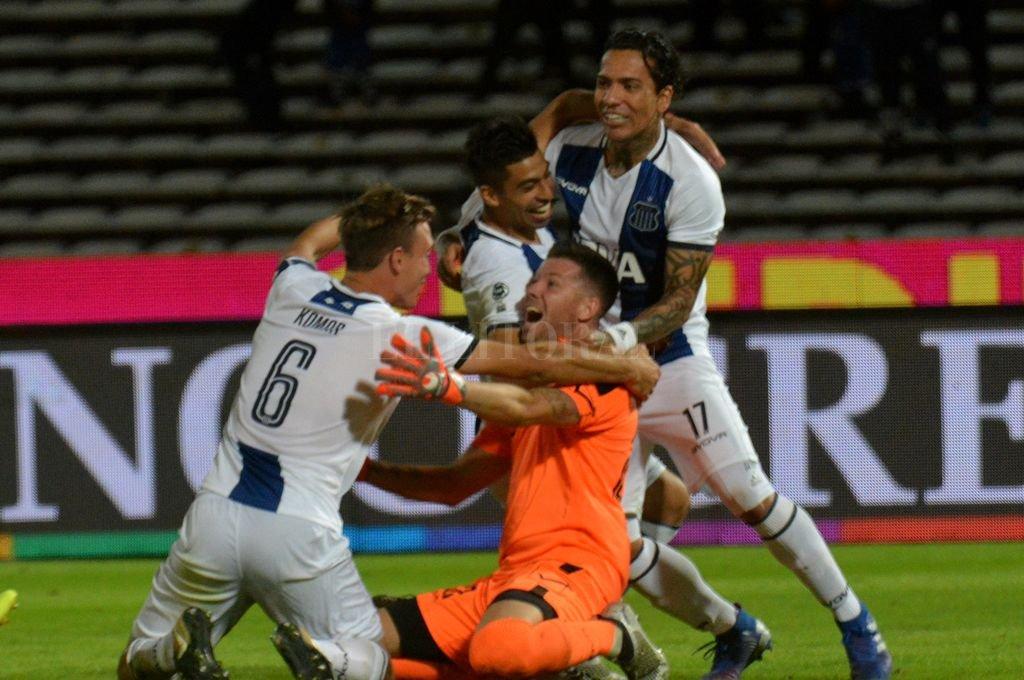 Talleres venció por penales a San Martín de San Juan