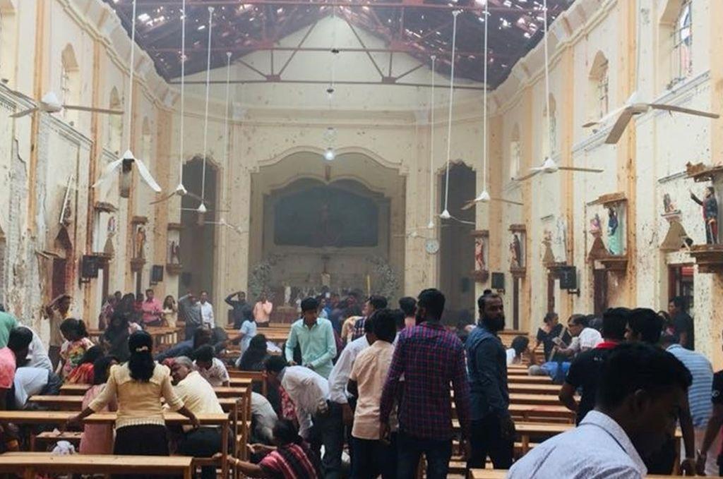 Sri Lanka: Cerca de 190 muertos por explosiones en iglesias y hoteles