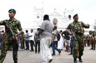 Detuvieron a ocho personas presuntamente vinculadas a los atentados en Sri Lanka