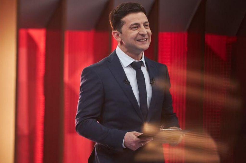 El actor Vladímir Zelenski es el nuevo presidente de Ucrania