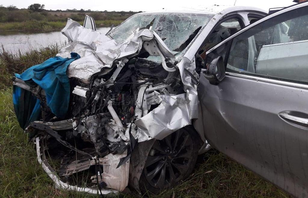 Cinco muertos tras un choque frontal en Margarita