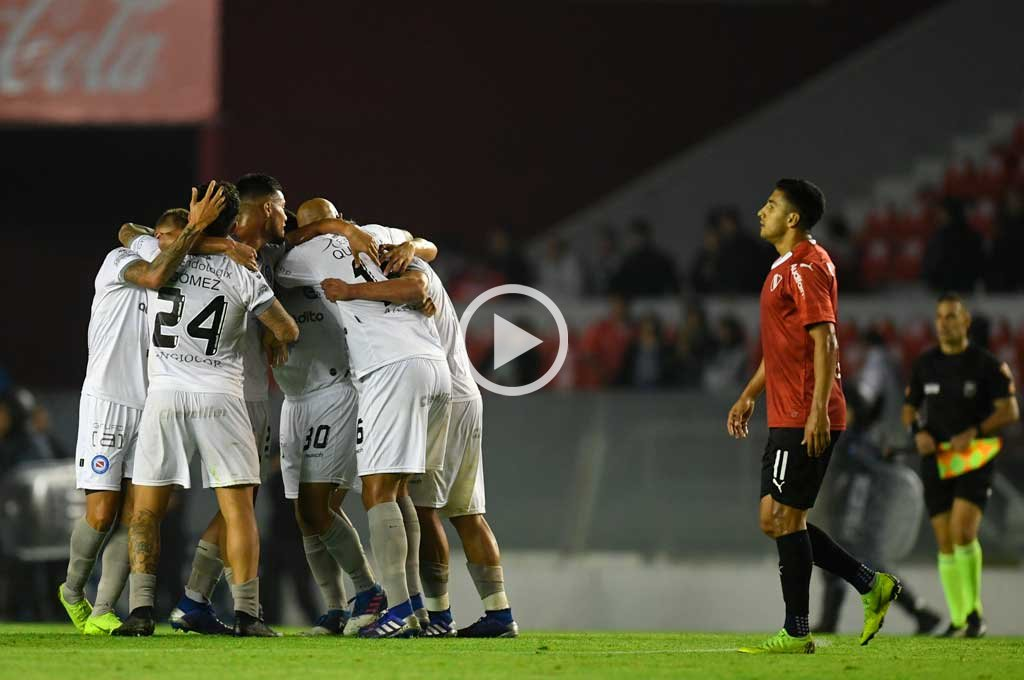 Argentinos Jrs empató con Independiente y lo dejó afuera