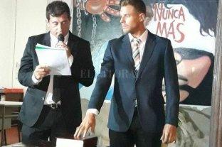 """""""No es nuestro"""" - Cristian Sartor al jurar como concejal de San Javier en el año 2017.  -"""