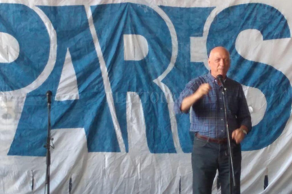 Antonio Bonfatti participó del almuerzo organizado por dirigente de Pares.  <strong>Foto:</strong> Gentileza