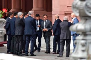 Empresarios elogiaron a Macri por la lucha contra la inflación