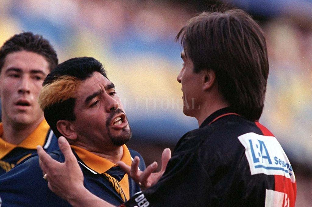 """La sentida despedida de Maradona a Toresani: """"Pensar que lo quise pelear y hoy lo lloro"""""""