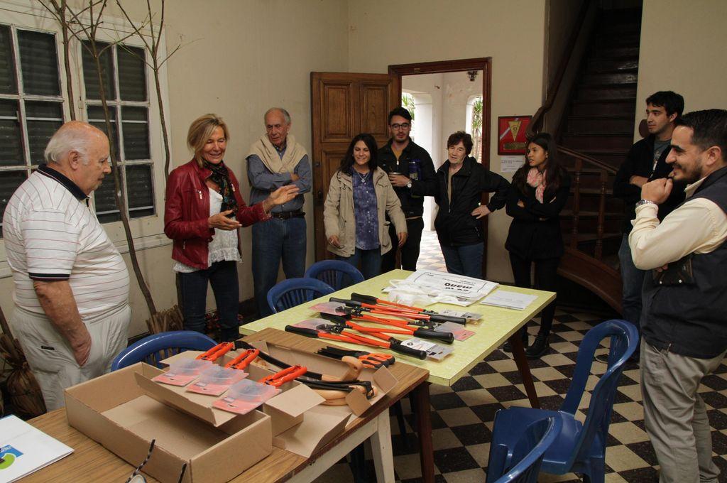 Día de la Tierra: Bahco donó herramientas
