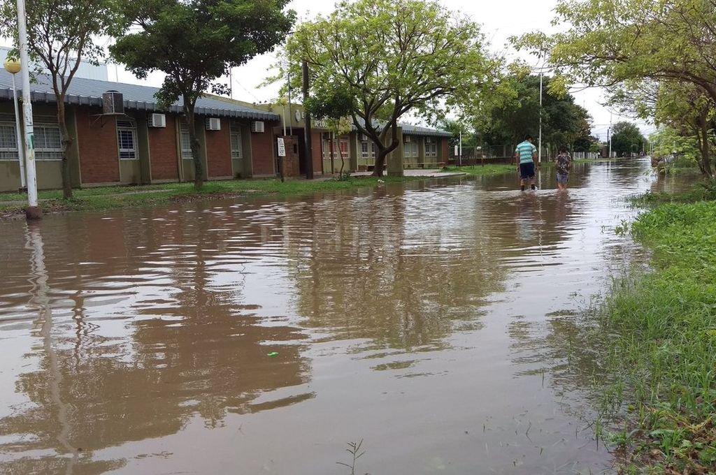 """Las inundaciones en Corrientes y Chaco tendrían """"baja incidencia"""" en Santa Fe"""