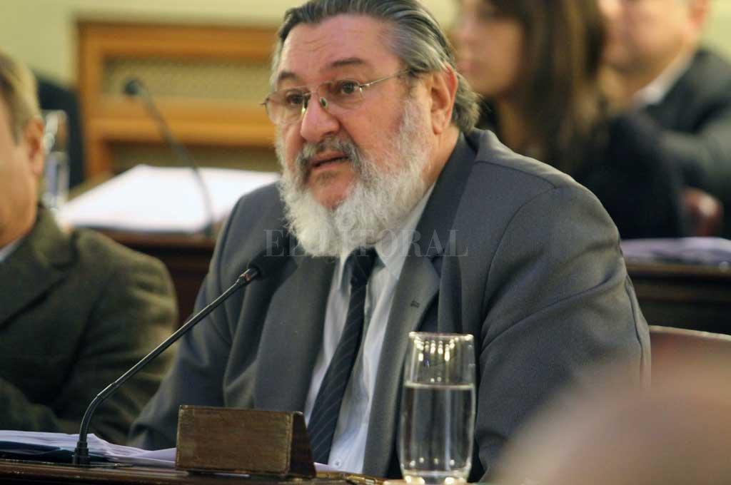 Mascheroni considera necesario escuchar todas las opiniones antes de votar la reforma al Código. Crédito: Archivo El Litoral