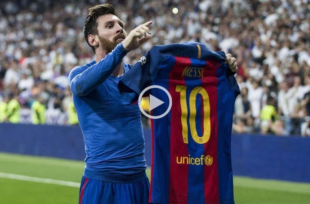 Se cumplen 2 años del día en el que Messi silenció a Madrid