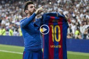 Se cumplen 2 años del día en el que Messi silenció a Madrid -  -