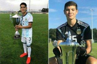 Dos Sabaleros campeones con Argentina