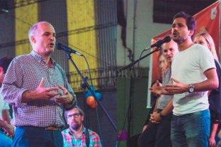 Simoniello y Henn cierran la campaña del Frente Progresista -  -