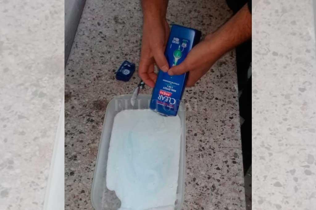 Intentó ingresar droga en un shampoo, terminó detenida