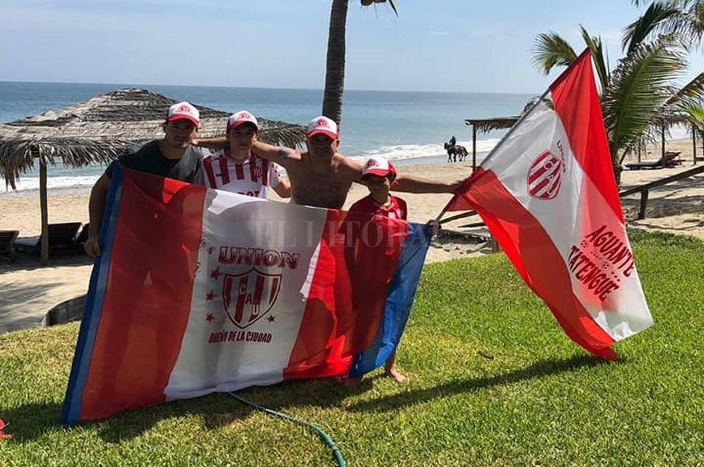Vuelve el hincha de Unión que se accidentó en Perú