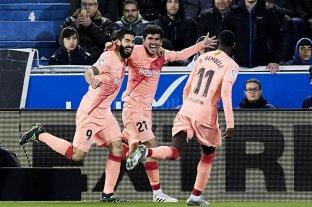 Barcelona venció a Alavés y quedó a un paso de un nuevo título