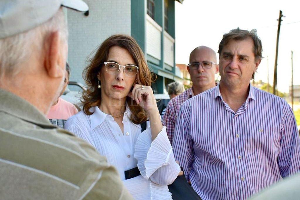 """El actual senador por San Jerónimo acompaña a Bielsa en la fórmula de Encuentro. """"La gente no puede pagar las tarifas"""" aseguró Capitani. Crédito: Mauricio Garín"""