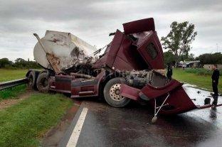 Camionero fallecido tras fuerte choque en la Ruta Nacional 34 -