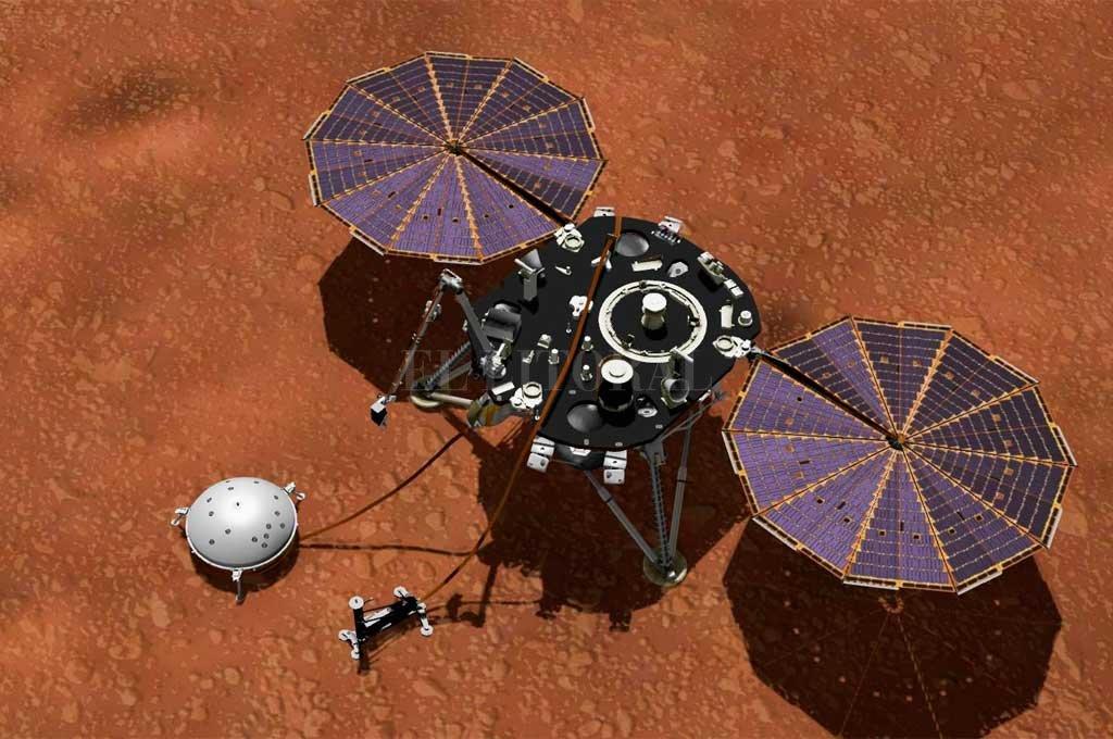 La NASA detectó un movimiento sísmico en Marte