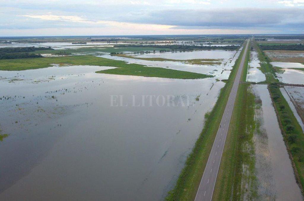 Las lluvias en Chaco podrían afectar al norte santafesino
