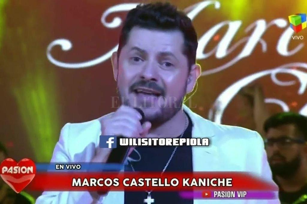 Marcos Castelló en Pasión de Sábado (imagen de archivo). Crédito: Archivo El Litoral