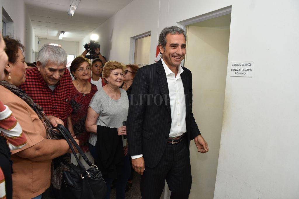 "Oscar ""Cachi"" Martínez mide bien para diputado provincial. <strong>Foto:</strong> Guillermo Di Salvatore"