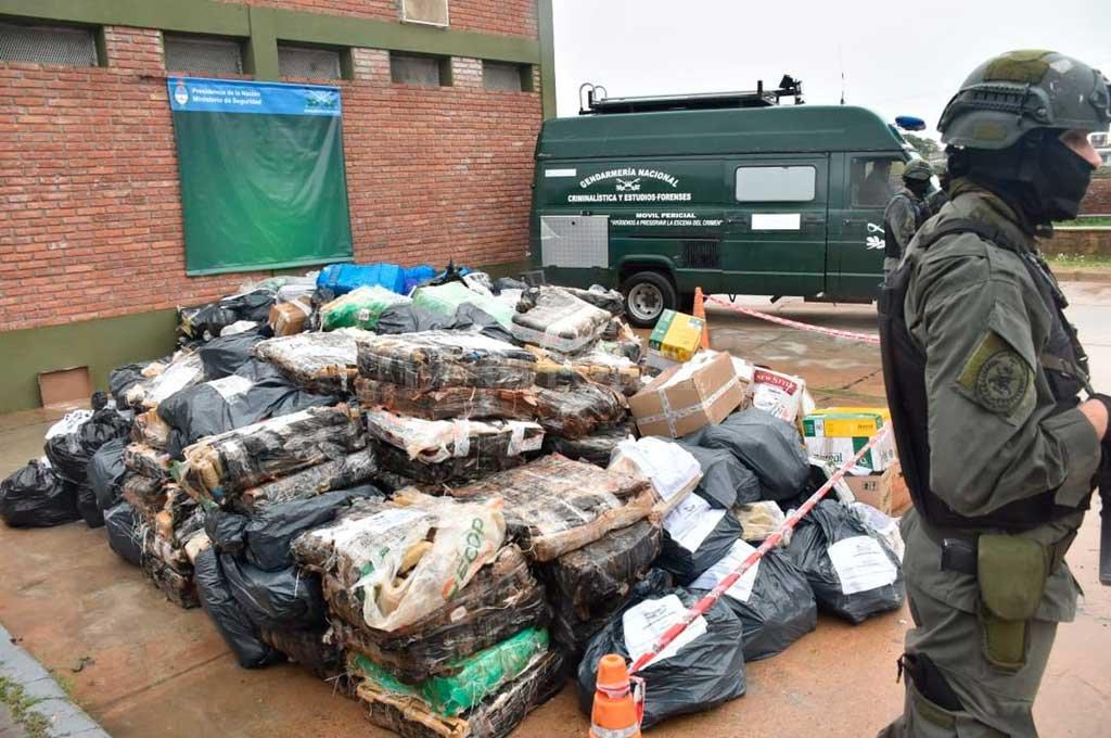 Incineraron 10 toneladas  de drogas en Santa Fe