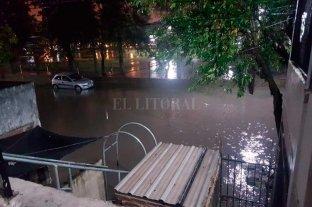 Fuertes lluvias generaron complicaciones en Reconquista -  -