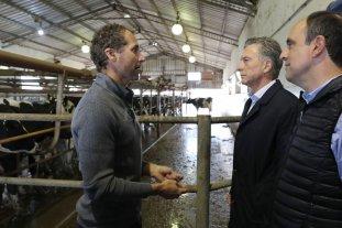 Tamberos pidieron a Macri formalizar el mercado de la leche cruda