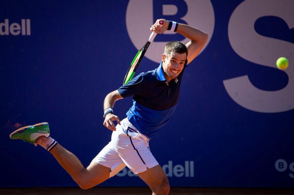 Guido Pella avanzó a los cuartos de final del ATP 500 de Barcelona