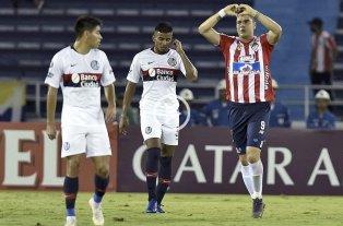 San Lorenzo perdió con Junior pero clasificó a los octavos de final de la Copa Libertadores -  -