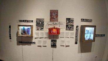 """""""Muestra en proceso"""" - Una de las obras integrantes de la exposición. -"""