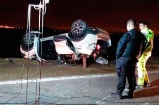 Siniestro fatal en la autopista Rosario - Córdoba: 5 muertos