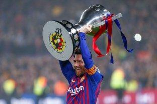 Barcelona se consagró campeón de la liga con un gol de Messi