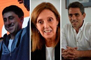 """Garibaldi, Larriera y Saleme, en la """"línea de largada"""" para el Concejo"""