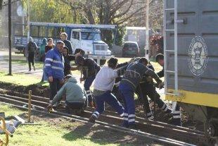 Proponen un cambio de la traza para superar el problema del paso ferroviario