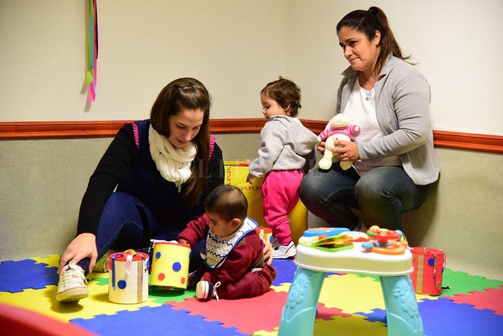 El Centro de Cuidado Infantil alberga a 25 niños y niñas que van desde los 6 meses a los 4 años. <strong>Foto:</strong> Gentileza