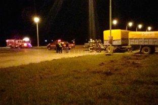 Fuerte choque en Carlos Pellegrini dejó un automovilista lesionado