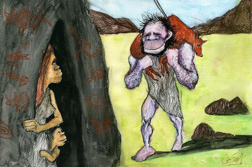 Prehistoria. Prehisteria.  <strong>Foto:</strong> Ilustración Lucas Cejas