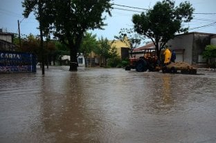 Esperanza: murió ahogado un niño que había desaparecido durante el temporal