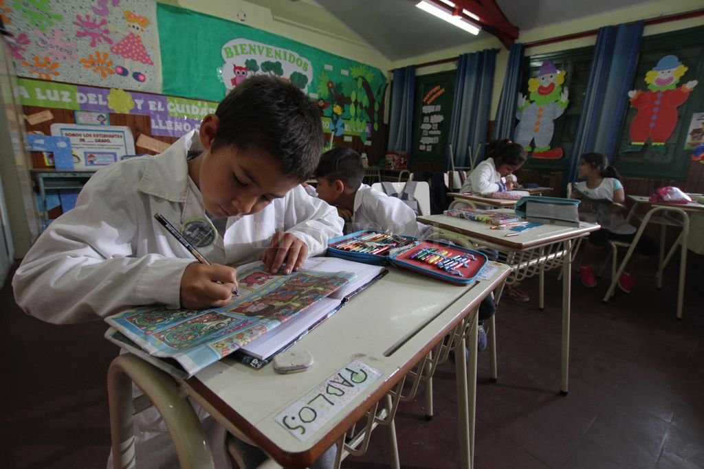 La educación rural reflejó índices saludables de rendimiento, llegando a estar por encima de la urbana en algunos casos. <strong>Foto:</strong> Mauricio Garín