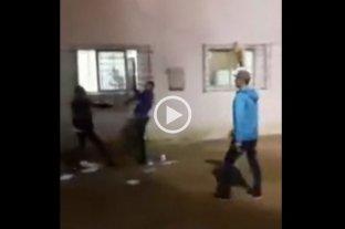 Video: presos de Paraná protagonizaron una violenta pelea