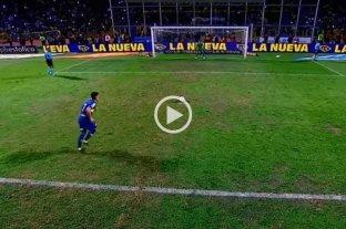 De los videojuegos a la TV: la novedosa transmisión de los penales en Boca - Rosario Central