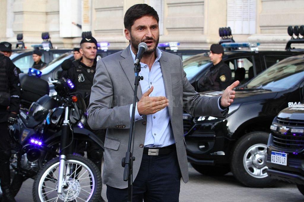 Maximiliano Pullaro, ministro de Seguridad de la provincia. <strong>Foto:</strong> Pablo Aguirre