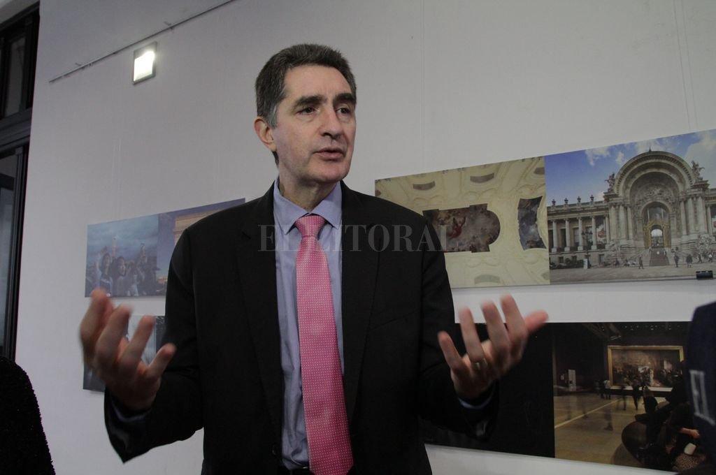 Yann Lorvo, consejero Cultural de la Embajada de Francia en Argentina <strong>Foto:</strong> Mauricio Garín