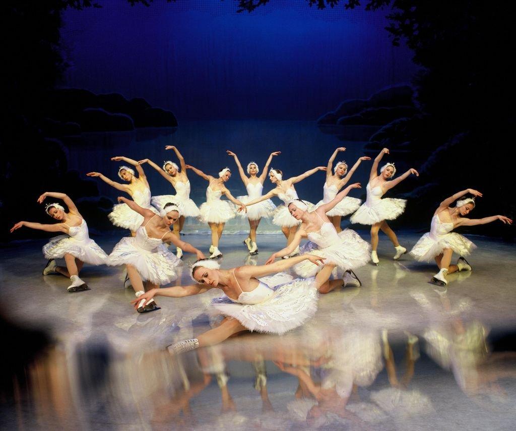 """Los bailarines presentarán su versión de """"El lago de los cisnes"""", """"La Cenicienta"""" y un """"Carnaval con el encanto de las nieves perpetuas"""" sobre una pista de patinaje sobre hielo real.  <strong>Foto:</strong> Gentileza producción"""